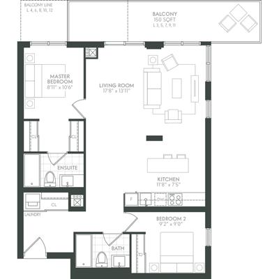 Berkley Floor Plan