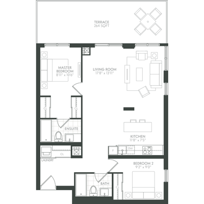 Ravine Floor Plan