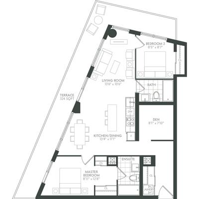 Sunset Floor Plan