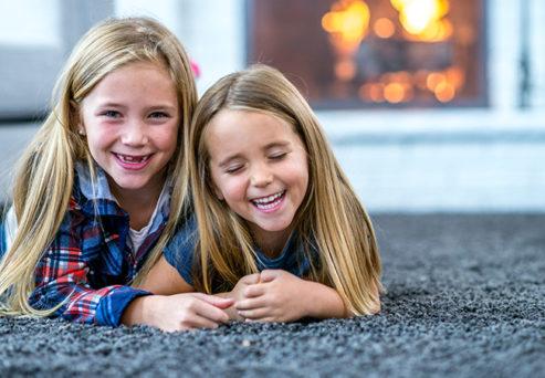 Kids on a Rug